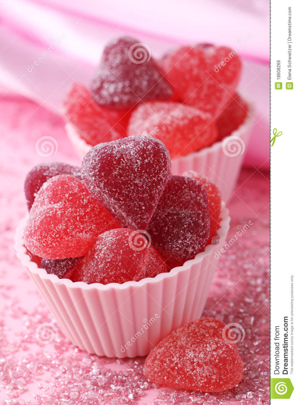 Fruit Jellies Candy Royalty Free Stock Images - Image: 18608269