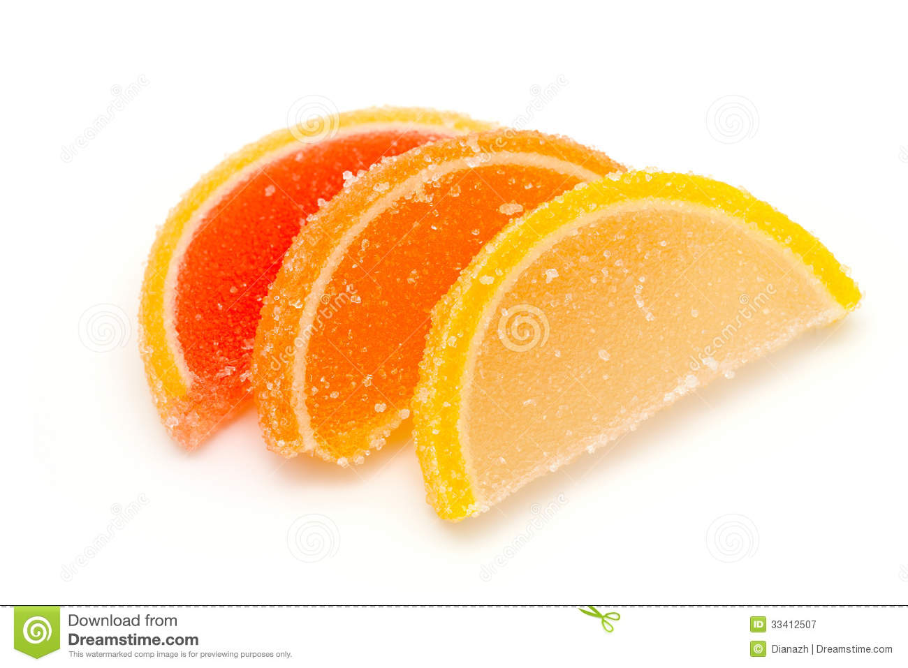 Fruit Jellies Royalty Free Stock Photography - Image: 33412507