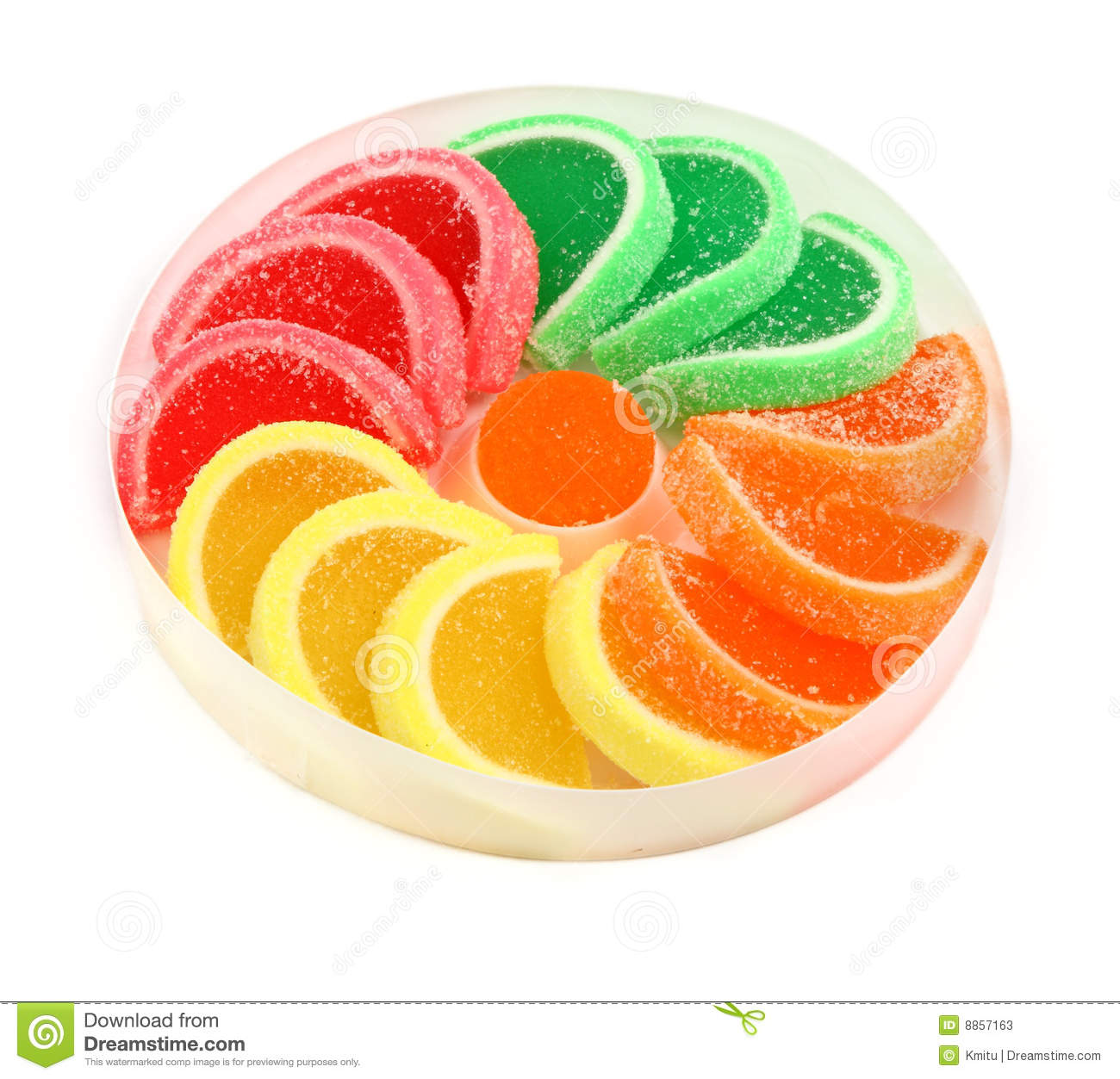 Fruit Jelly Sweets Stock Photos - Image: 8857163