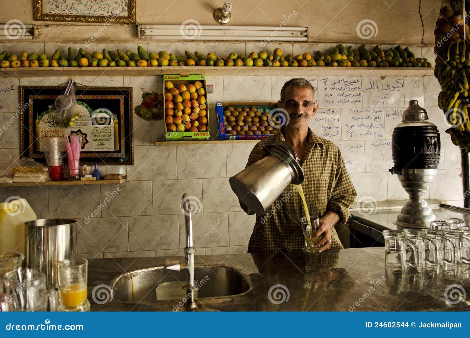 Fruit juice shop in cairo egypt editorial stock image Cairo shop