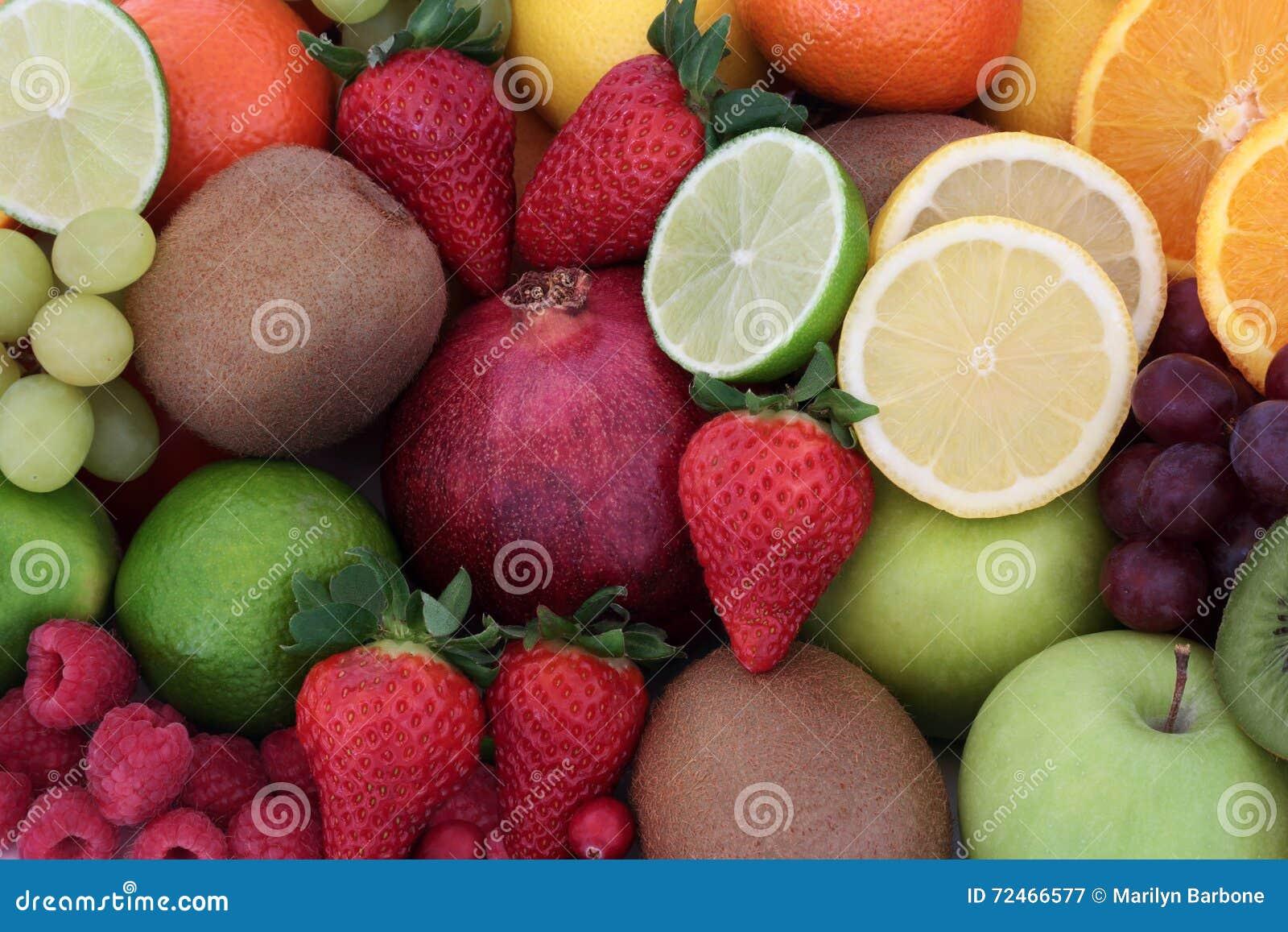Fruit juteux de santé