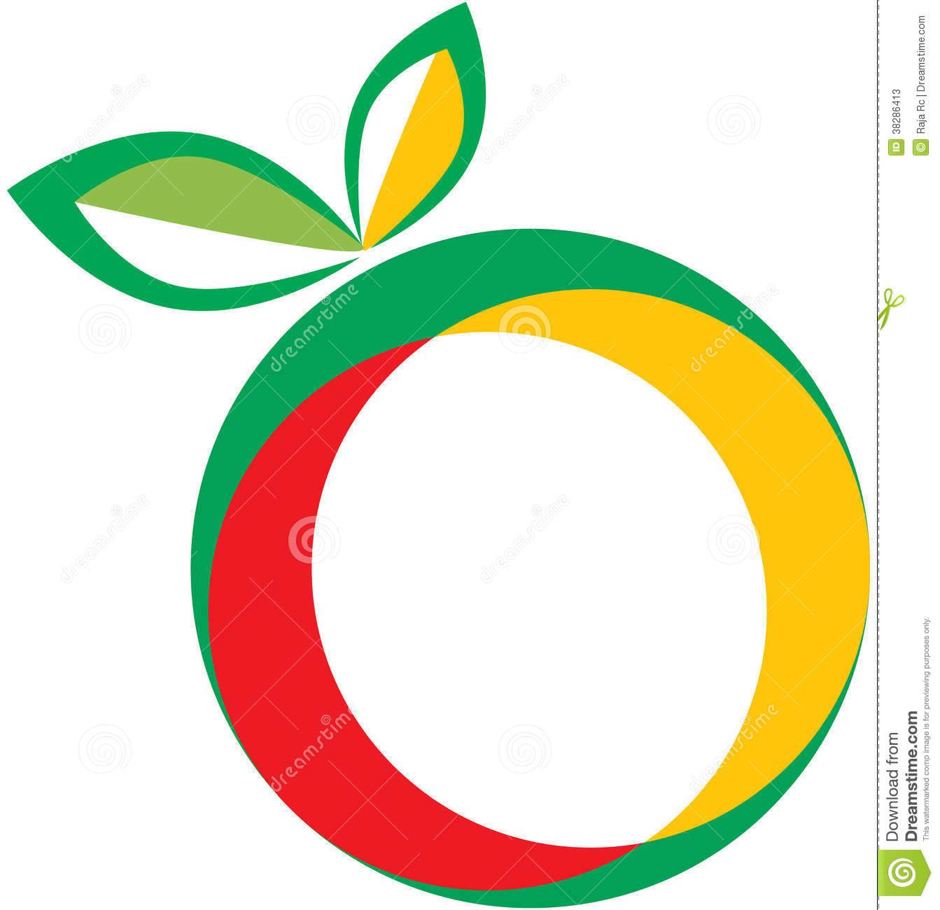 Fruit Logo Stock Photos Image 38286413