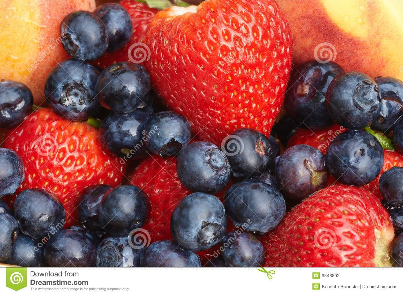 Fruit Medley Stock Photography - Image: 9848802