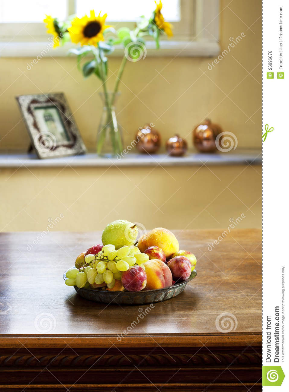 Fruit Plate Royalty Free Stock Image Image 26996676