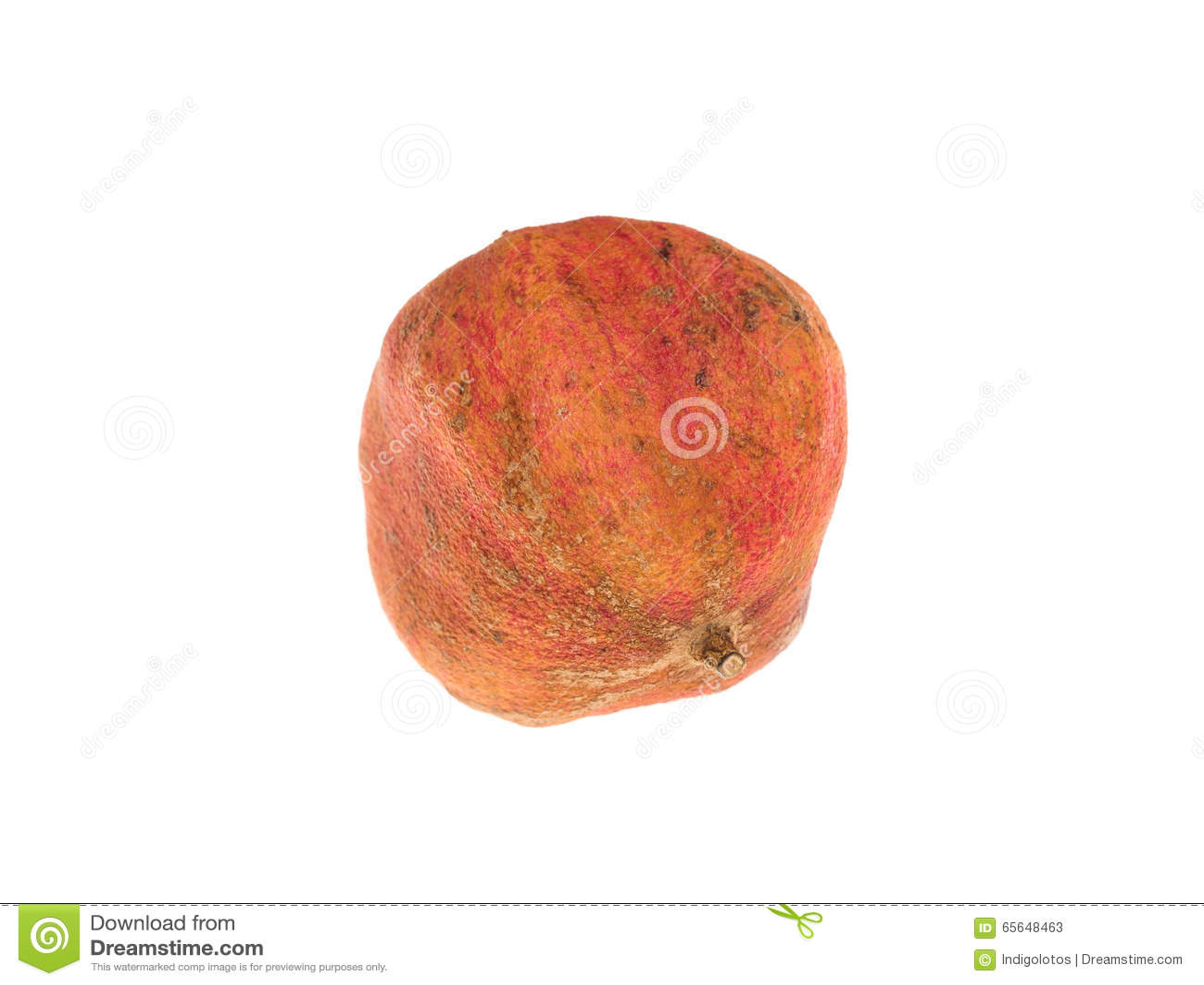 Fruit putréfié de grenade