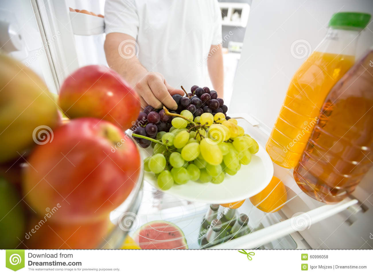 meat and fruit diet refrigerate fruit