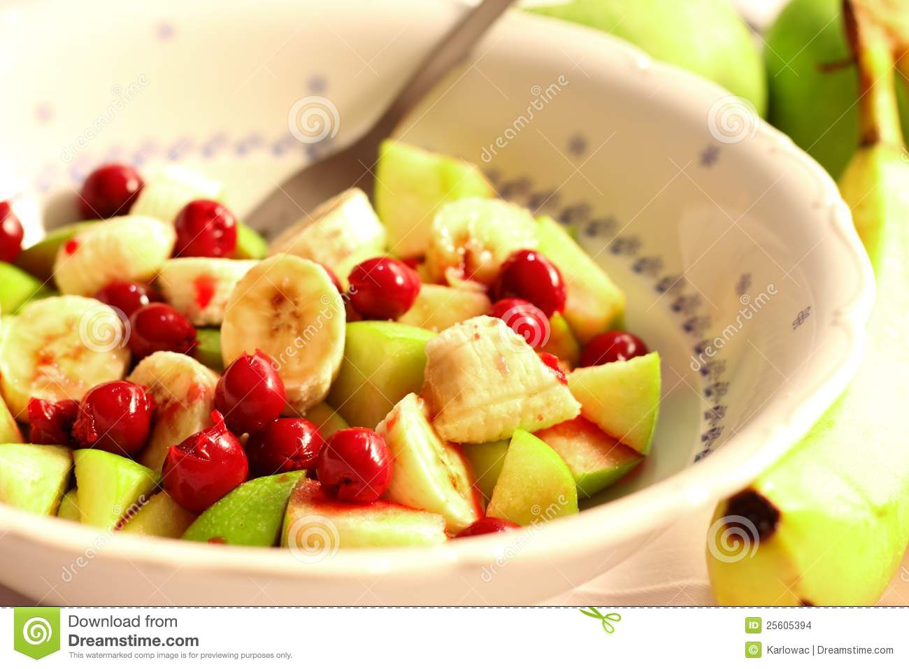 Fruit Salad Stock Images - Image: 25605394