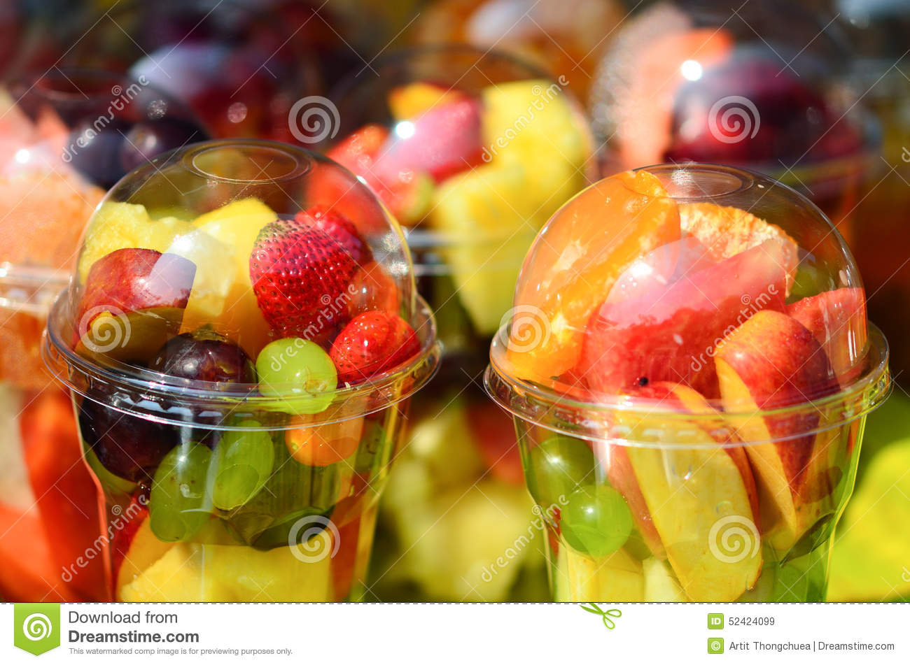 healthy fruit cups berry fruits
