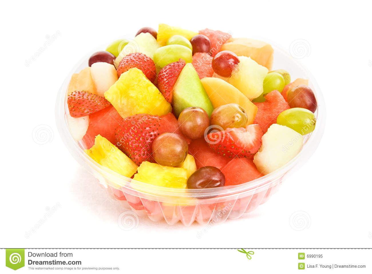 Download Fruit Salad Bowl stock image. Image of juicy, delicious - 6990195