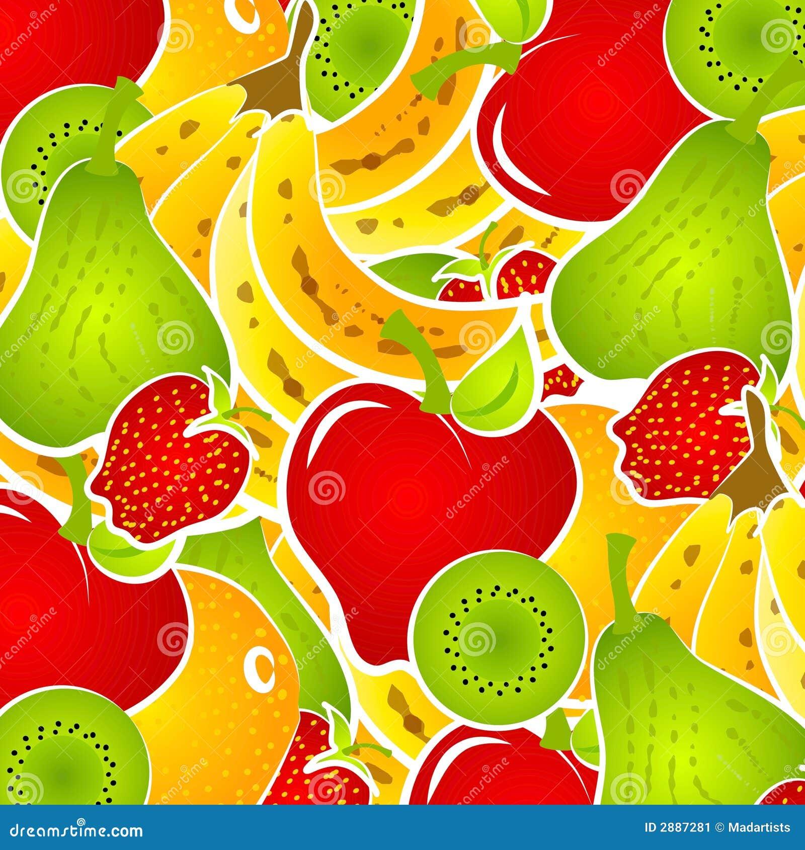 Fruit Salad Food Background