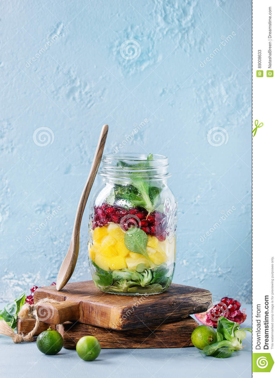 Fruit Salad In Mason Jar Download Preview