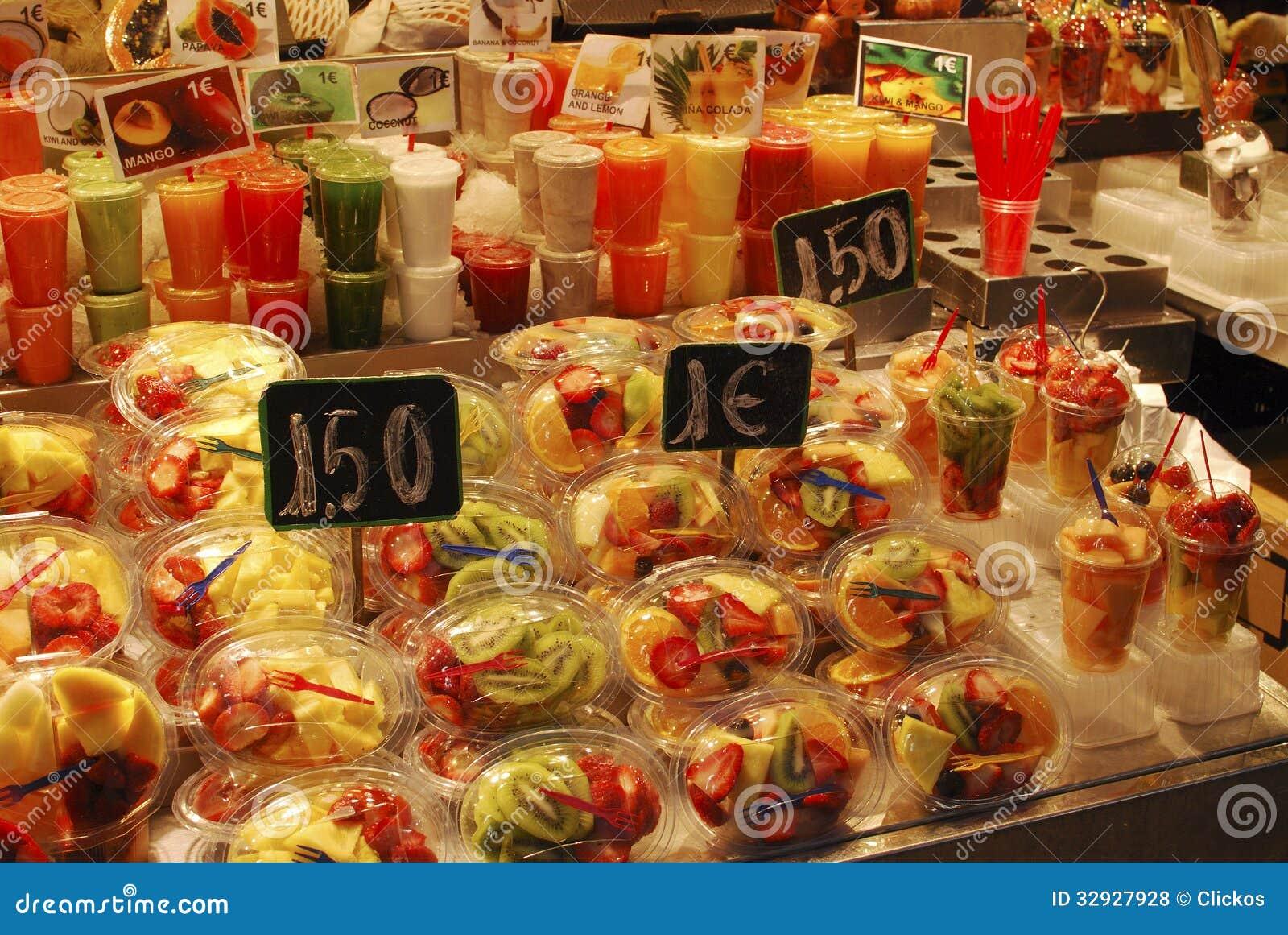 Barcelona Famous Food Market