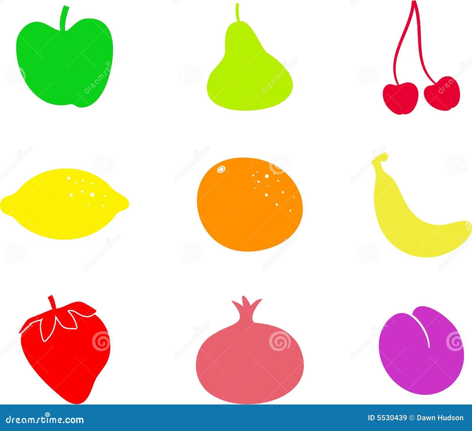 Fruit Shapes Royalty Free Stock Images - Image: 5530439