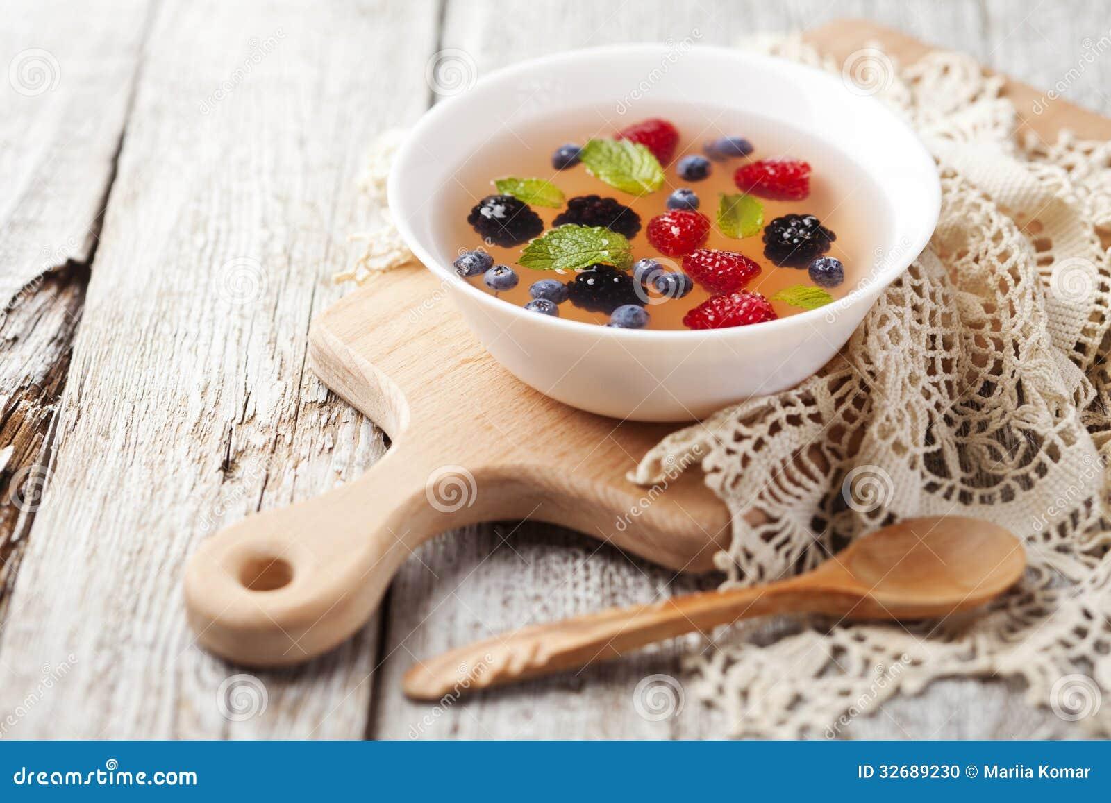 Fruit Soup Stock Photo - Image: 32689230