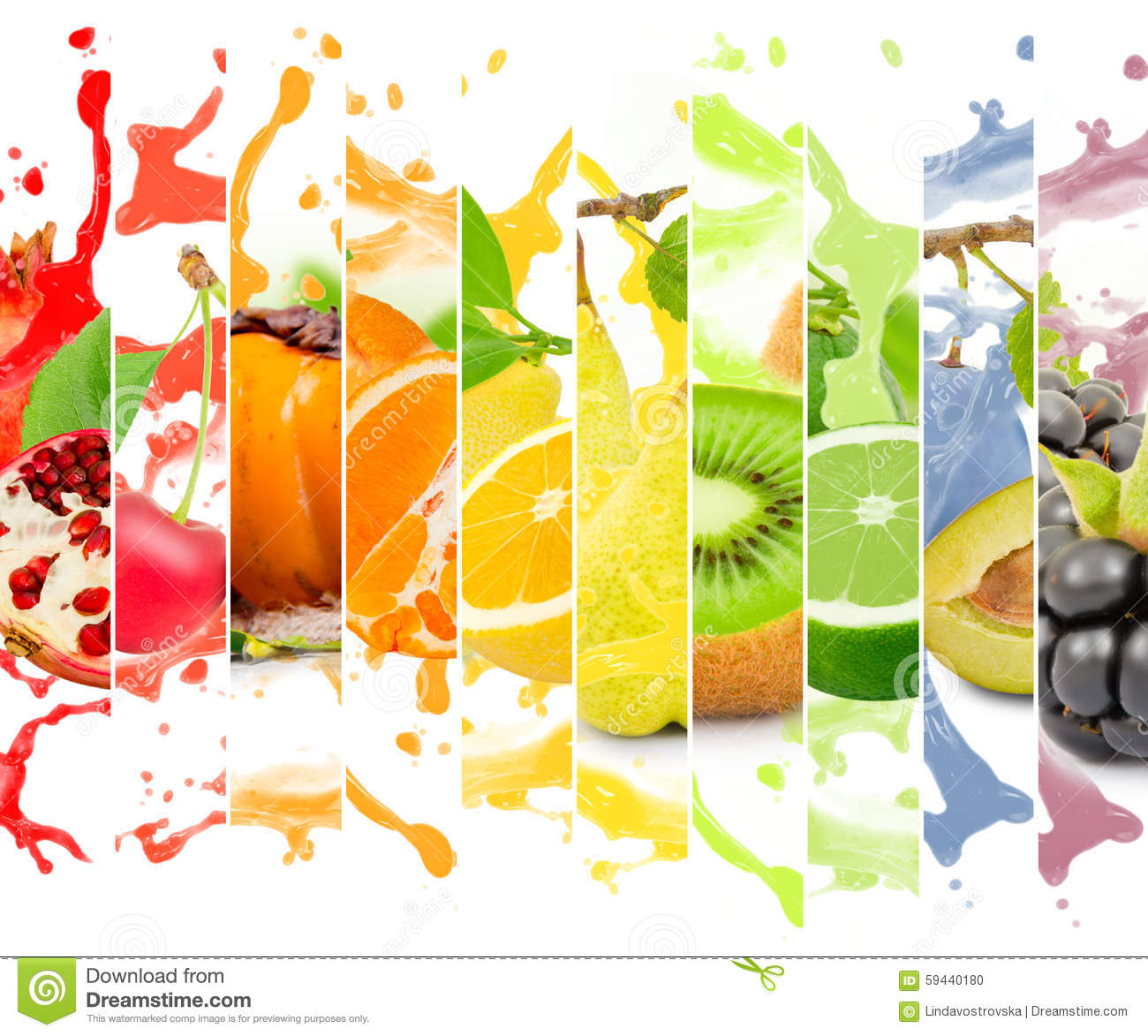 fruit splash stock photo image of food multicolor