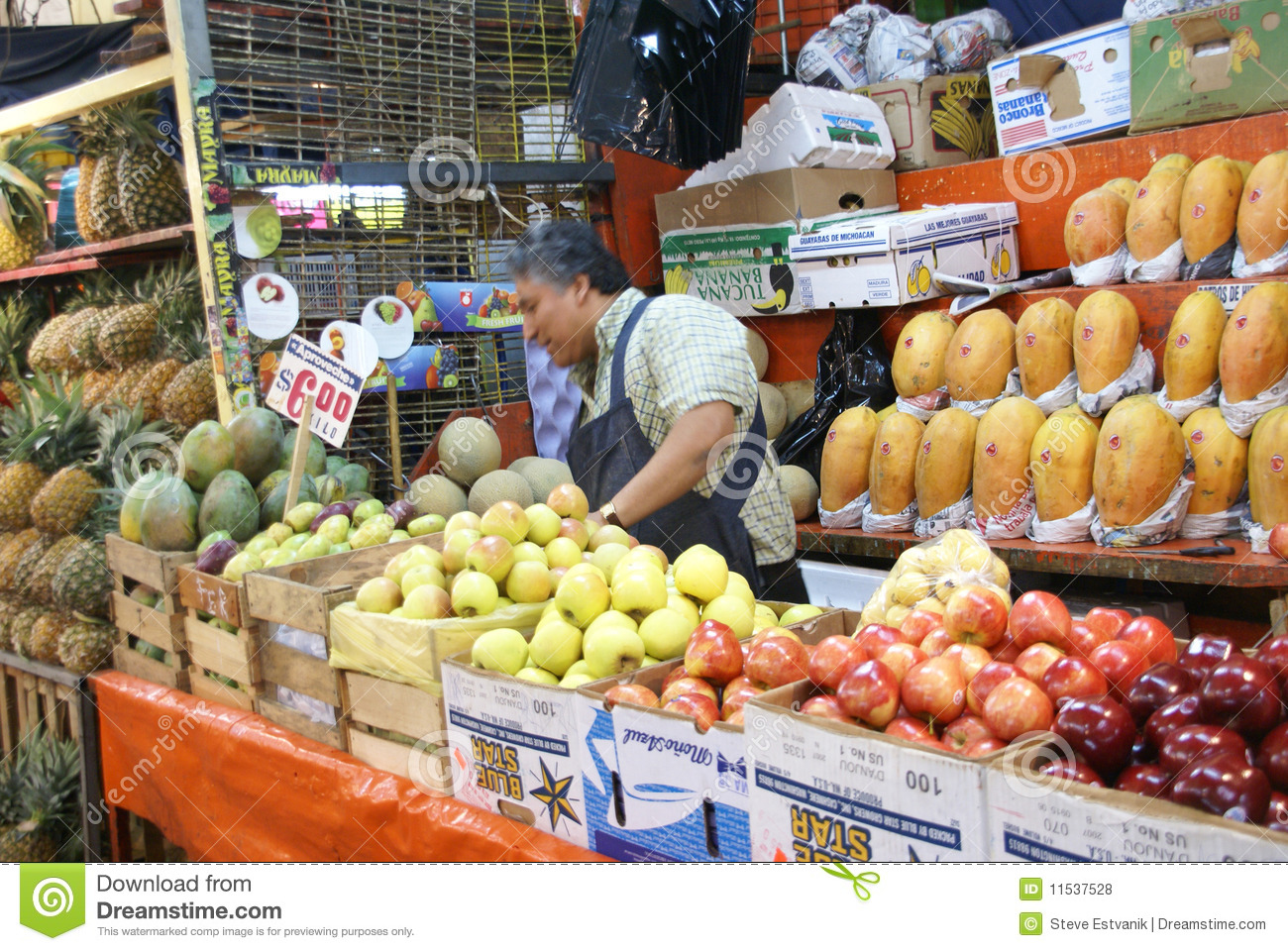 a fruit vendor stall royalty free stock images image 33692009