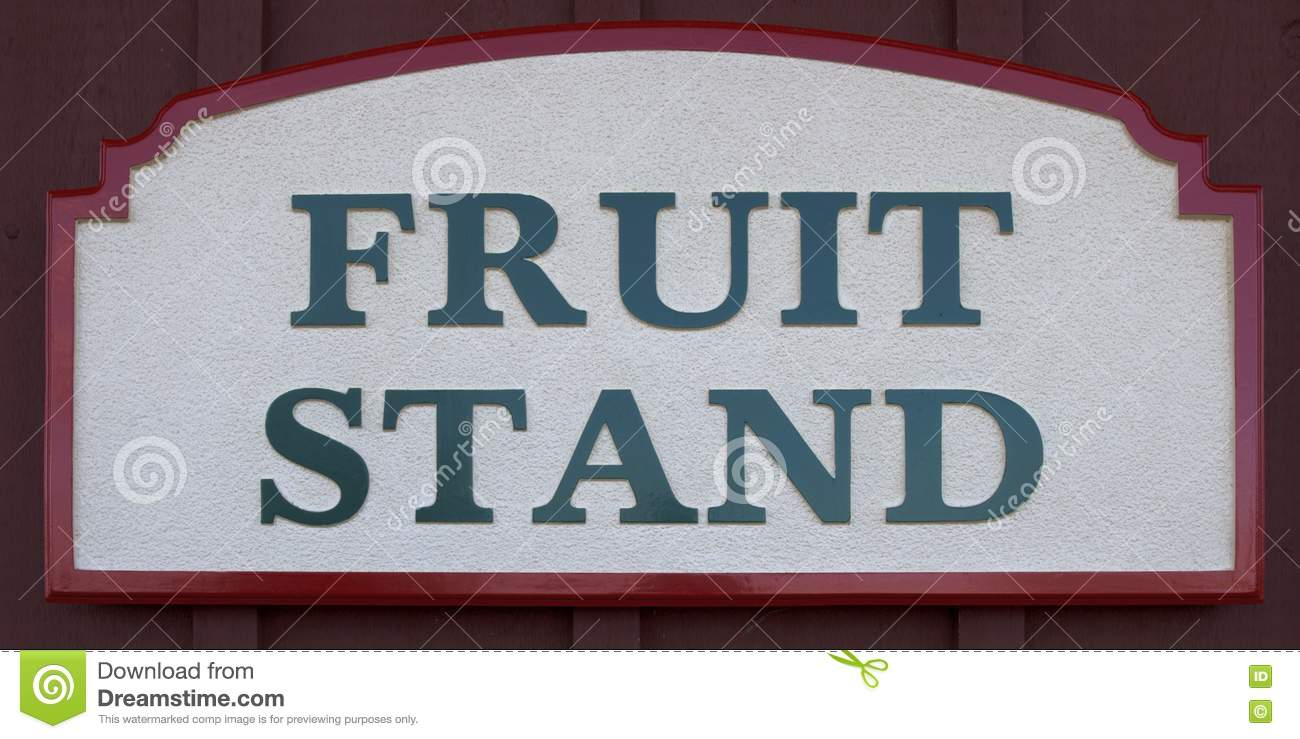 Fruit Stand Sign Stock Photo  Image 16633630. Rooster Signs. Hemispheric Signs Of Stroke. Language Signs Of Stroke. Sag Signs Of Stroke. 21st December Signs Of Stroke. Road Indian Signs Of Stroke. Floral Signs. Eyeliner Signs Of Stroke