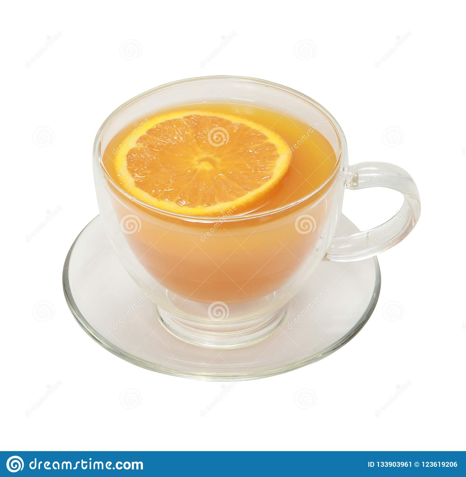 Fruit tea,the beverage so prepared, served hot or iced.