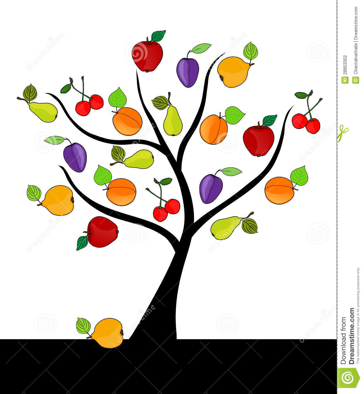 ... clip art displaying 16 images for fruit tree clip art toolbar creator