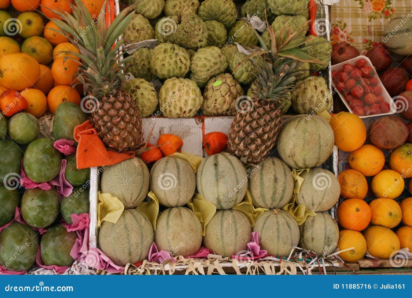 Fruit And Vegetable Market Egypt Royalty Free Stock Image