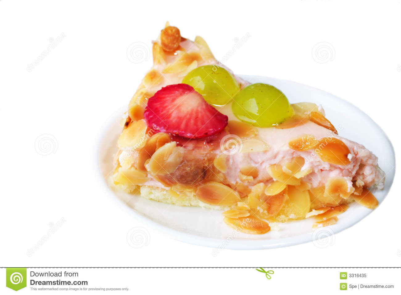 Cake With Fruit Yogurt : Fruit And Yogurt Cake Royalty Free Stock Photo - Image ...
