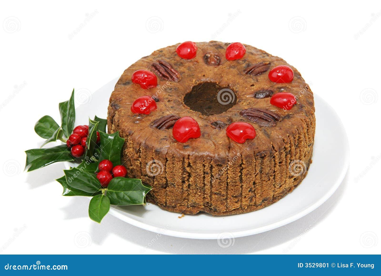 Fruitcake isolerade helt