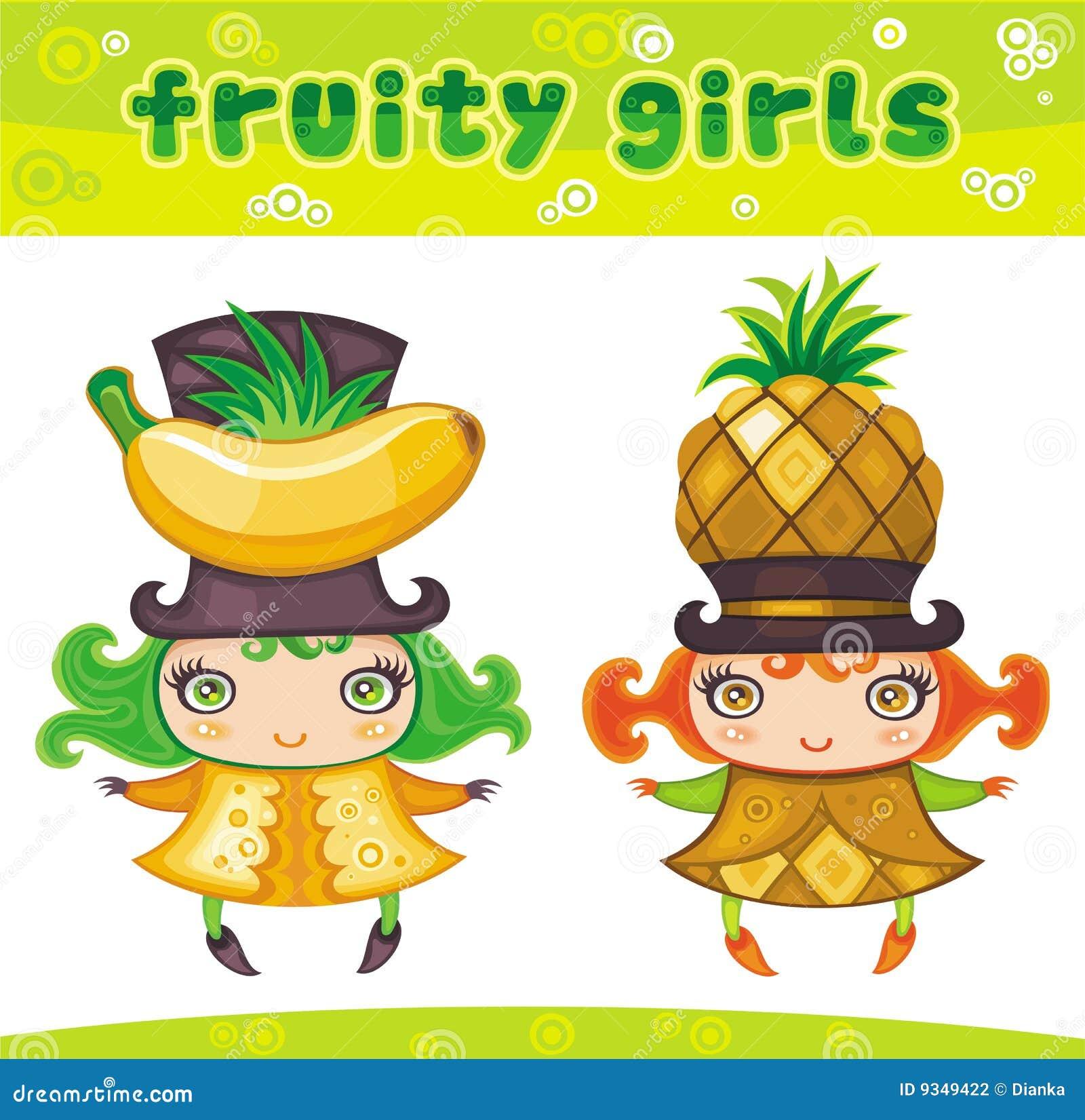 Fruitige meisjesreeks 3