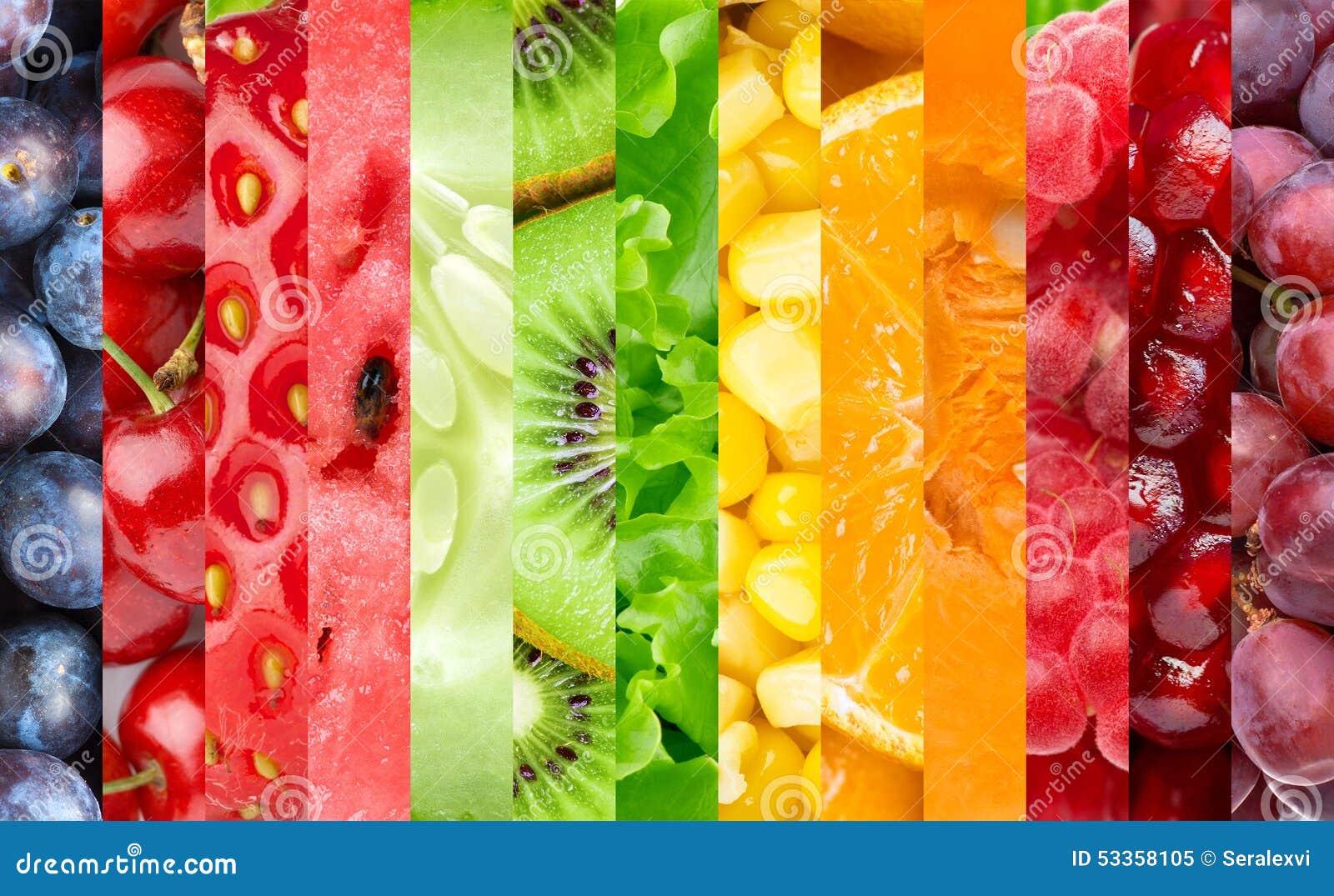 fruits baies et l gumes de couleur photo stock image 53358105. Black Bedroom Furniture Sets. Home Design Ideas