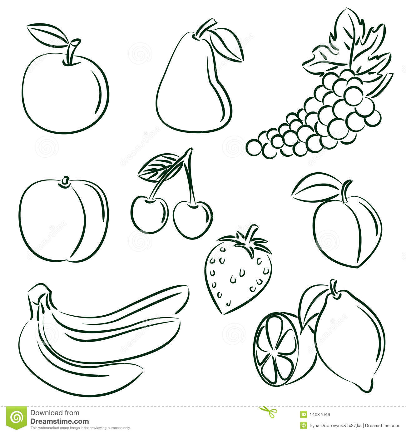 Fruits collection