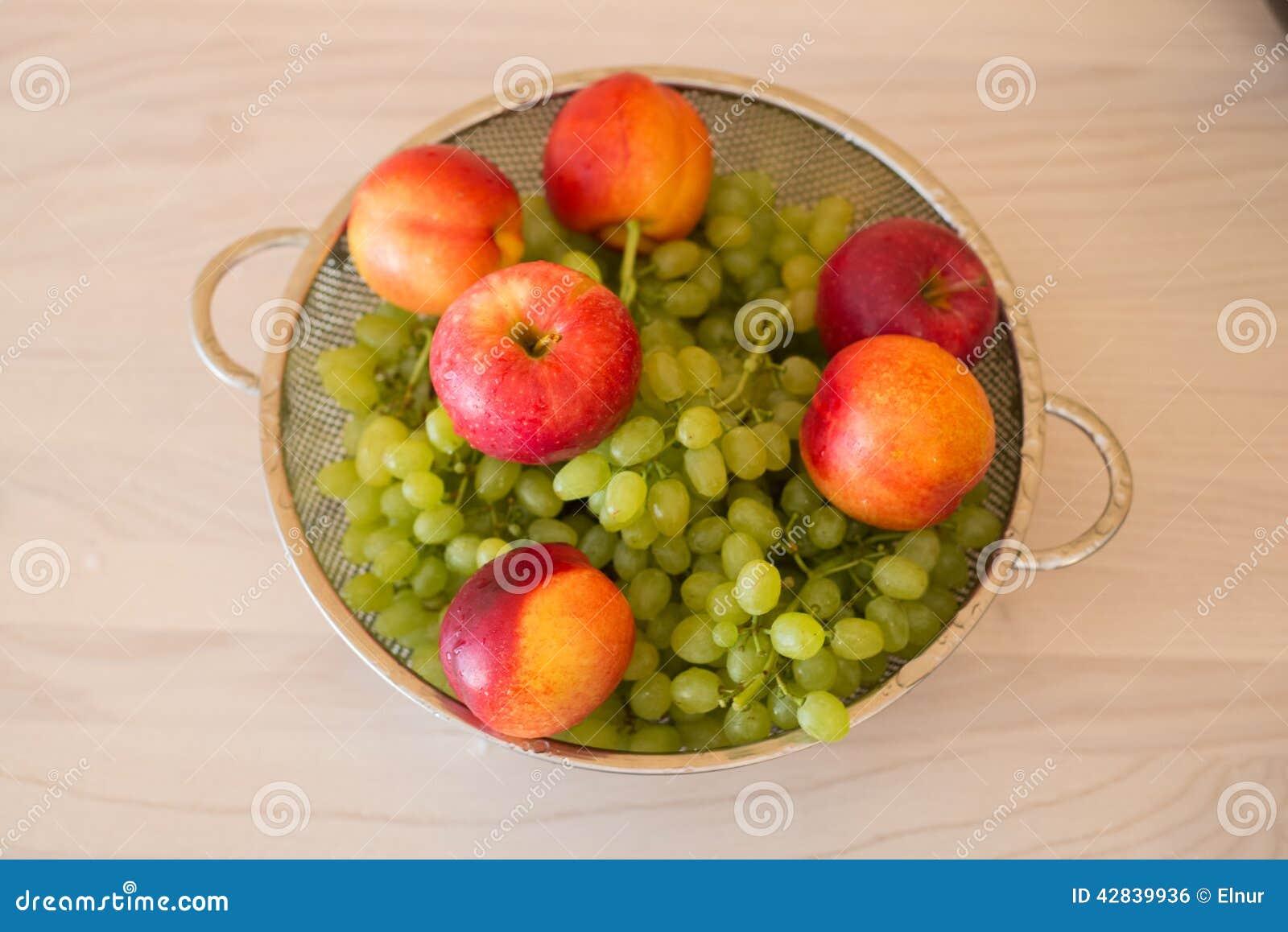 Fruits dans le bown