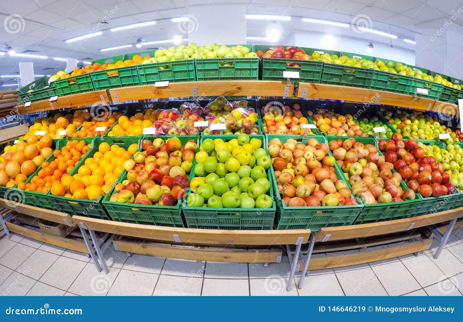 Fruits dans le magasin