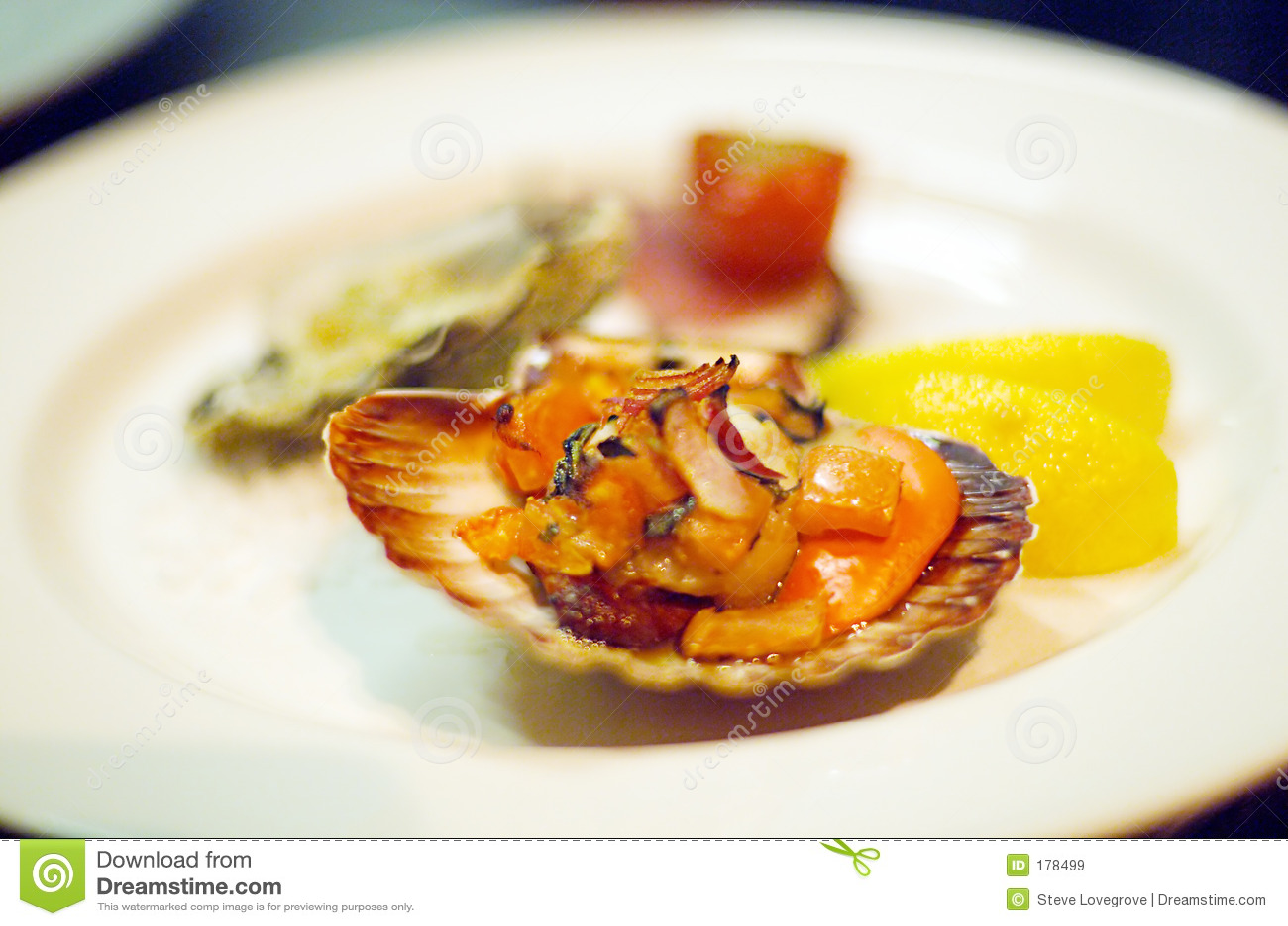 Fruits de mer Entrée