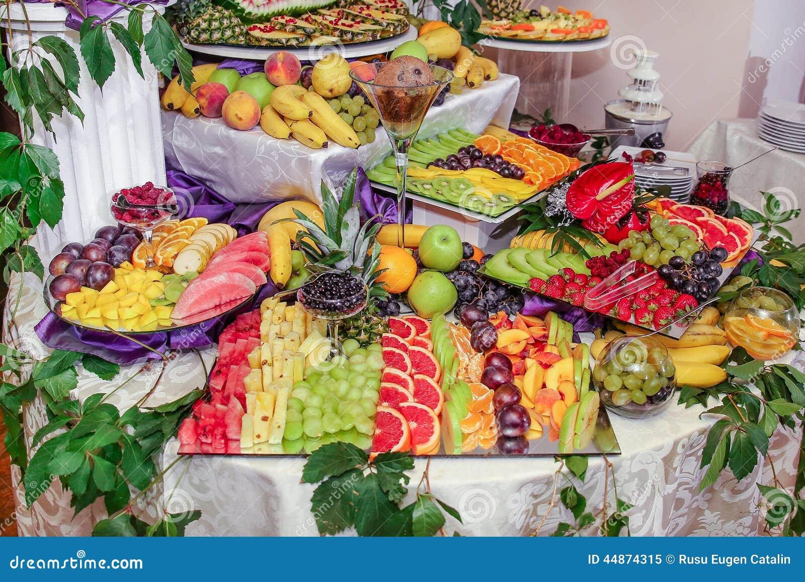 Fruits Decoration Stock Photo Image 44874315