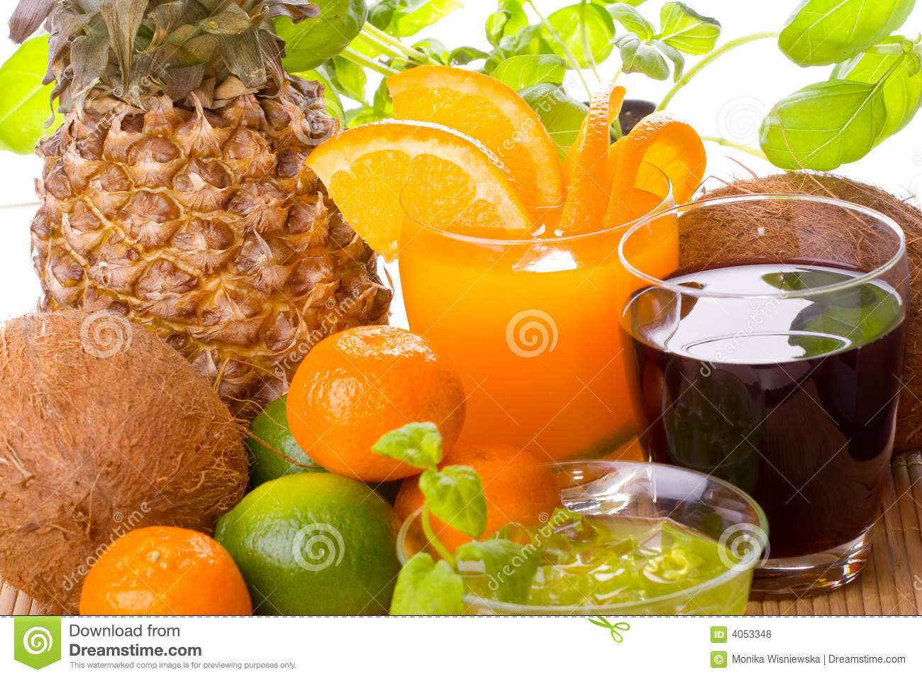 Fruits And Drinks