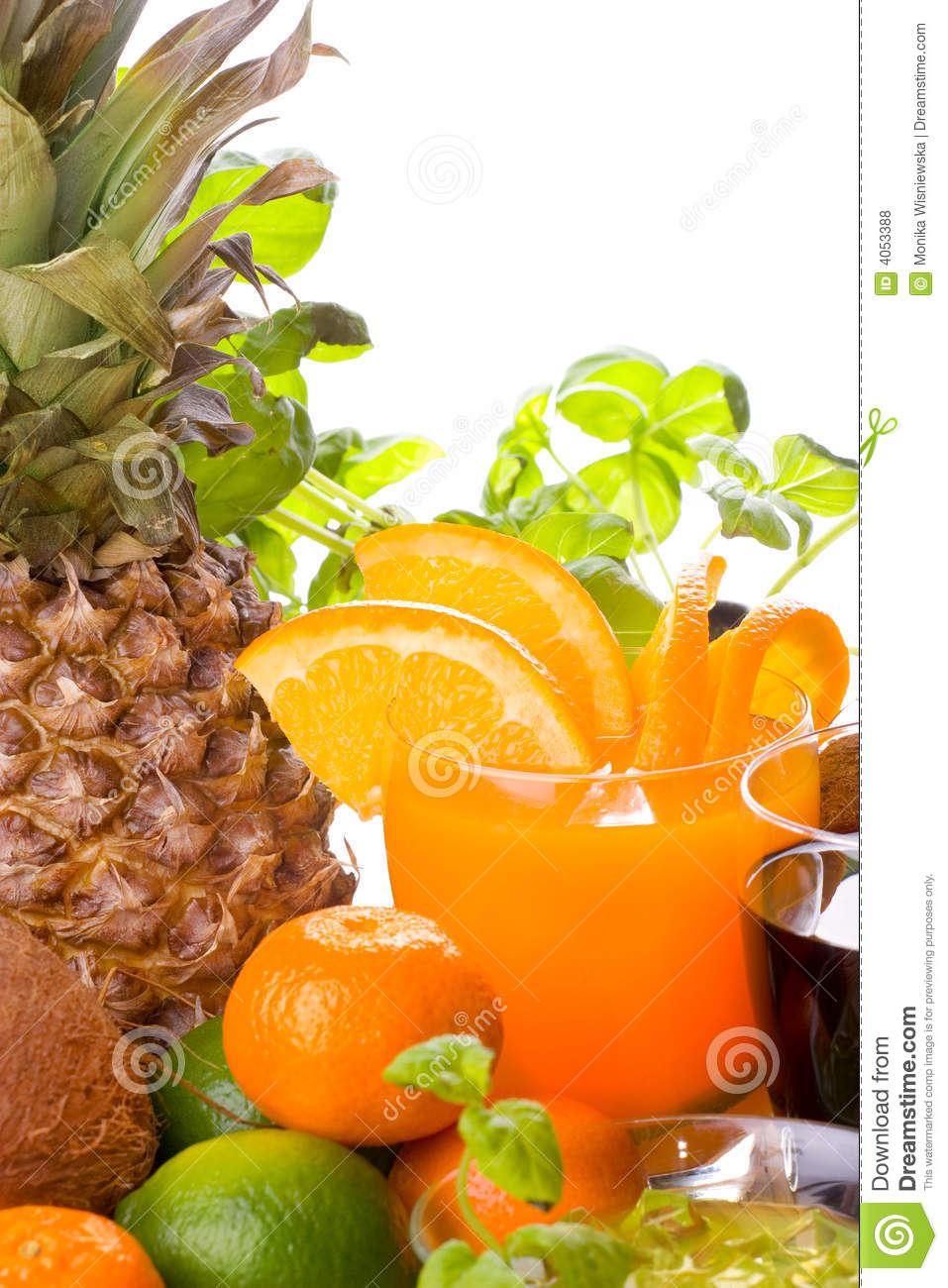 Fruits et boissons