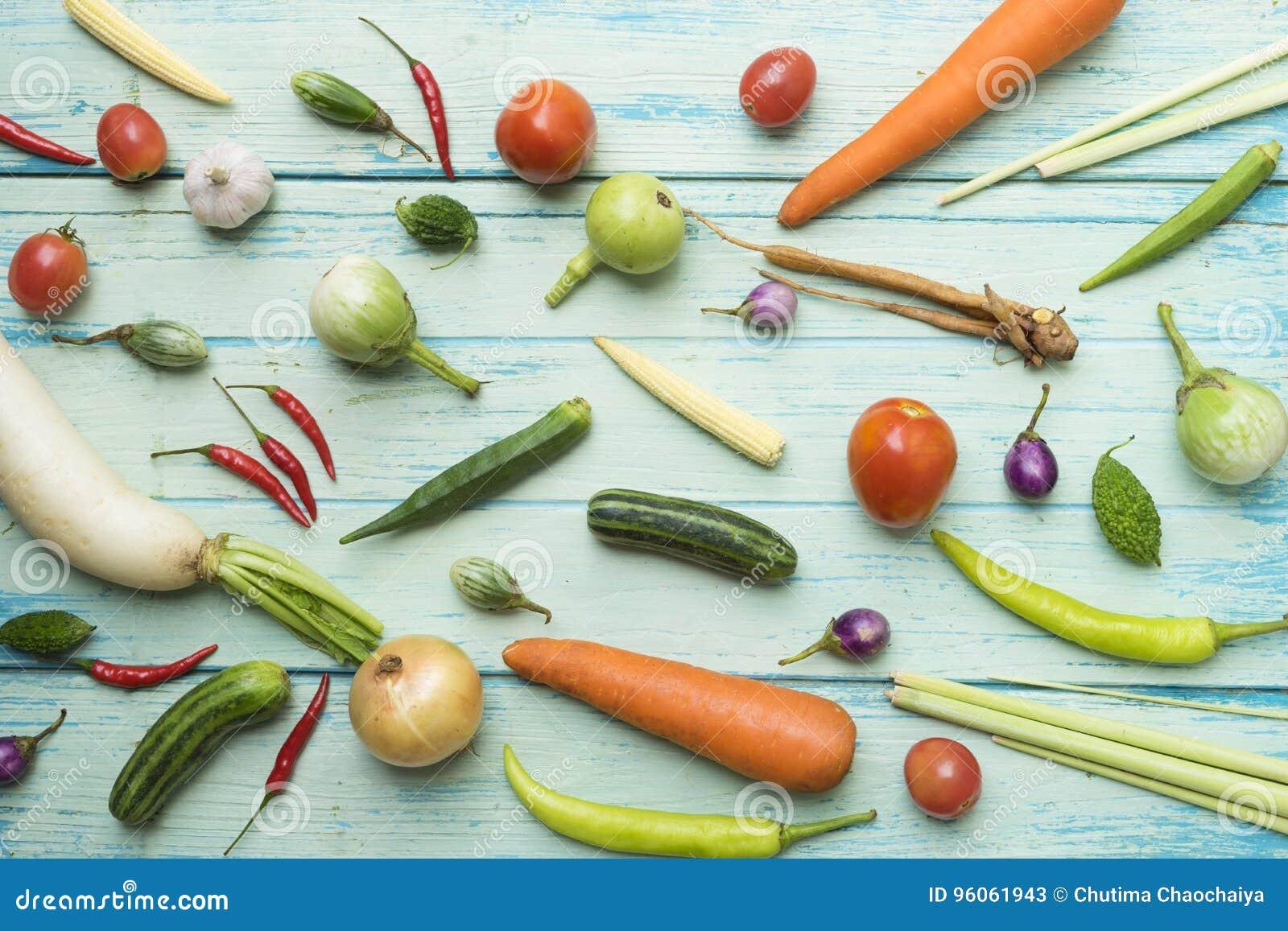 Fruits et légumes frais du marché d agriculteurs