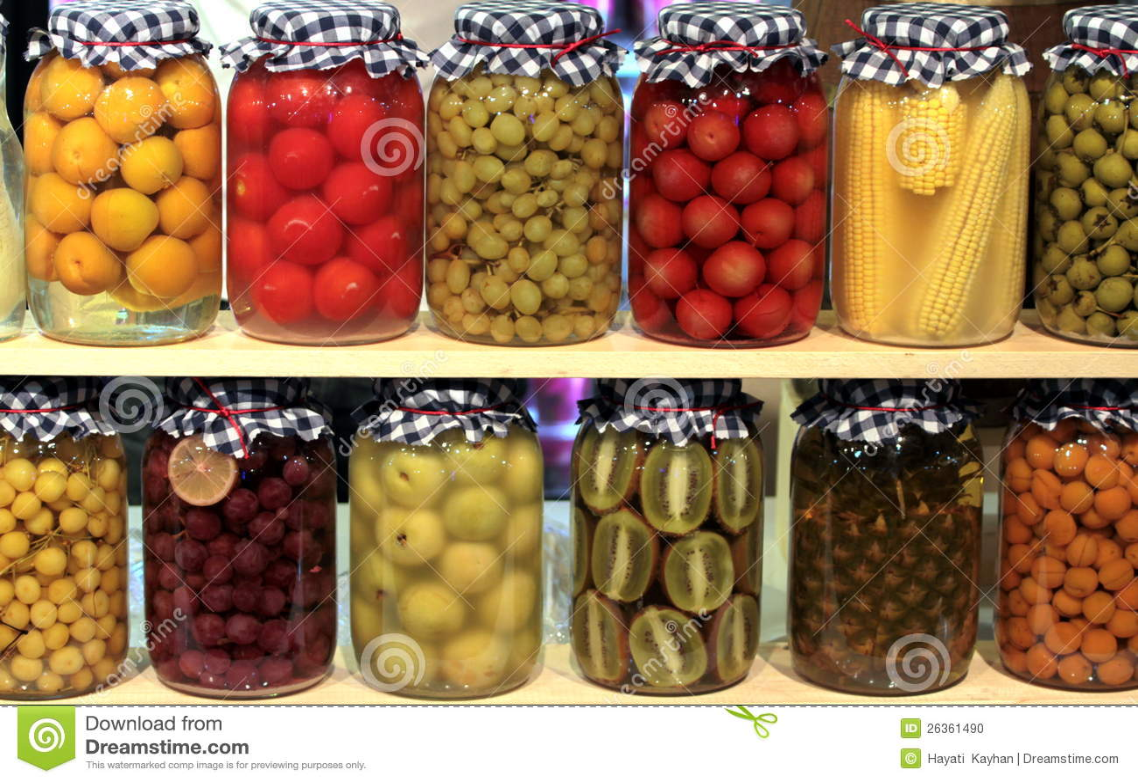 fruits et l gumes conserve de fruits photo stock image. Black Bedroom Furniture Sets. Home Design Ideas