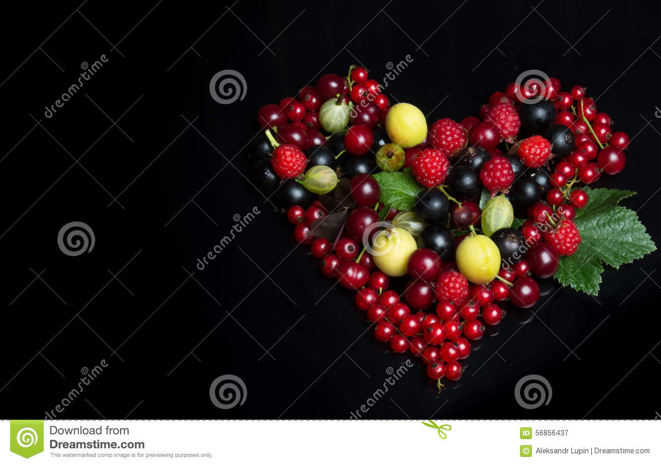 Fruits in the form of a heart symbol stock image image 56856437 fruits in the form of a heart symbol biocorpaavc