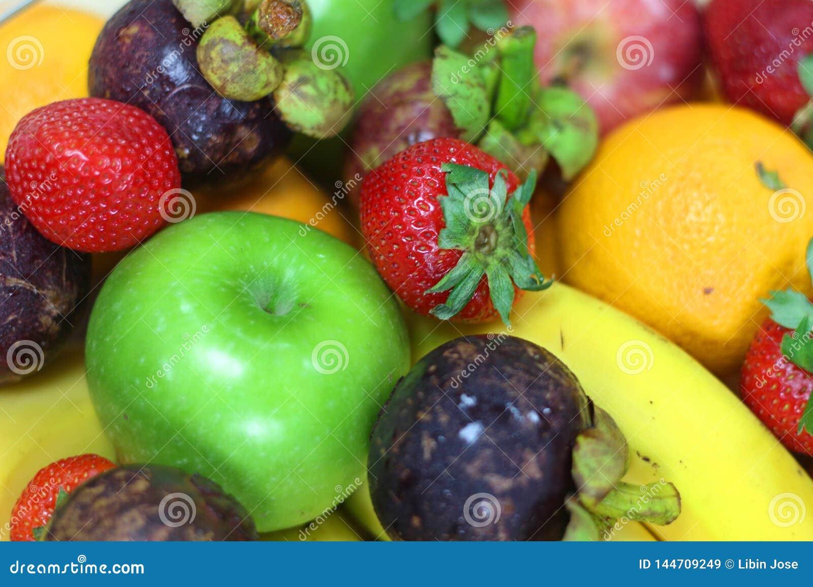 Fruits frais tropicaux