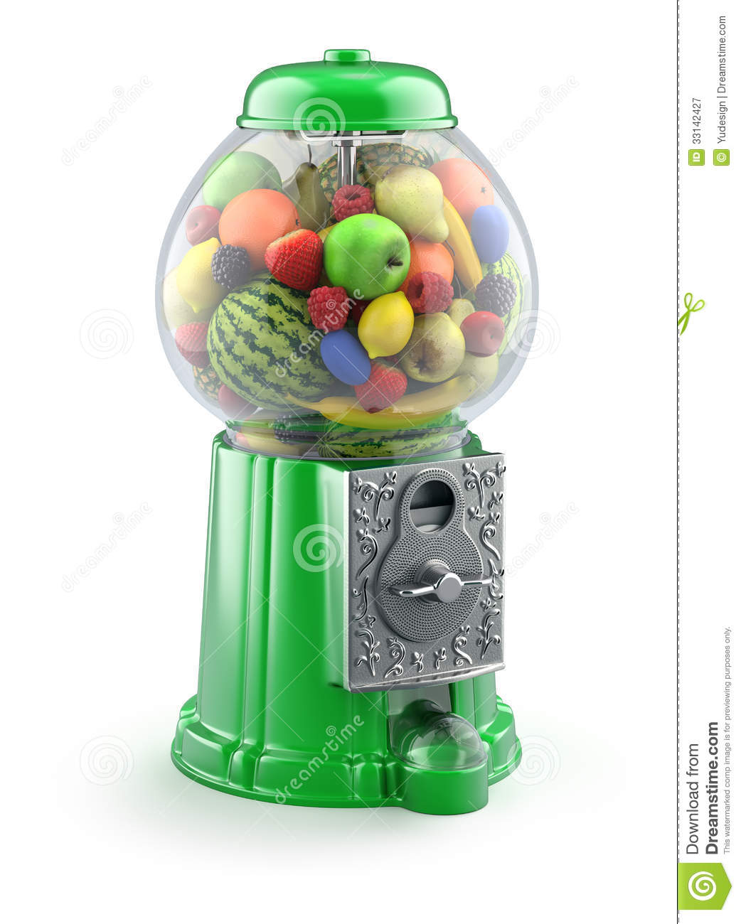 in the gumball machine
