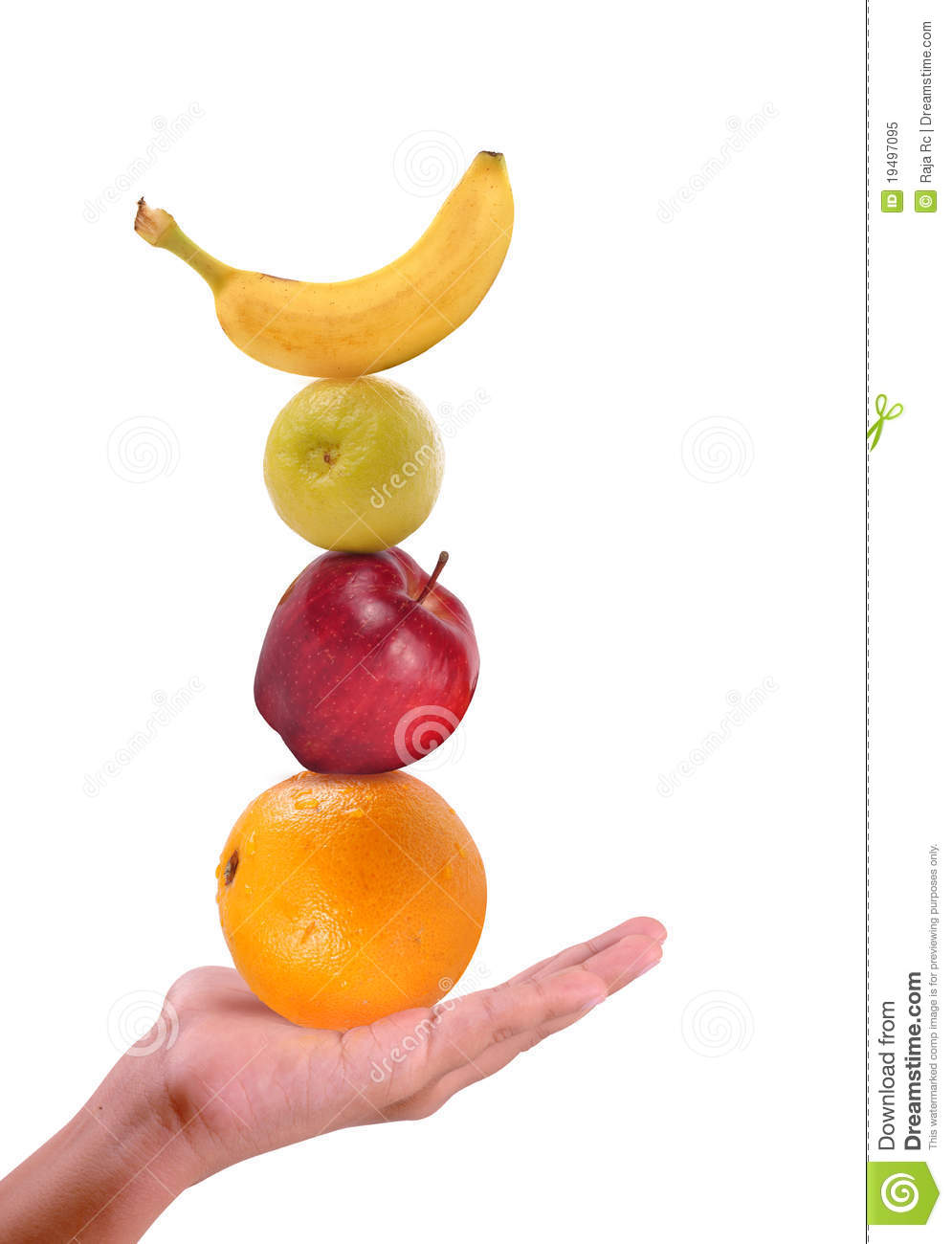Fruits in hand