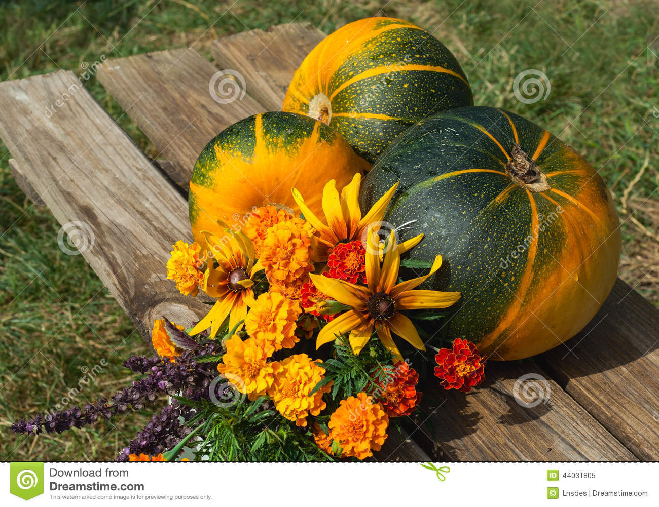 fruits l gumes et fleurs d 39 automne photo stock image 44031805. Black Bedroom Furniture Sets. Home Design Ideas