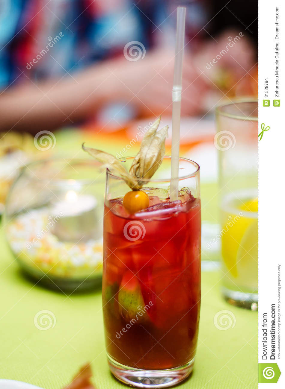 Fruits Non Alcoholic Cocktail Stock Images - Image: 31528794