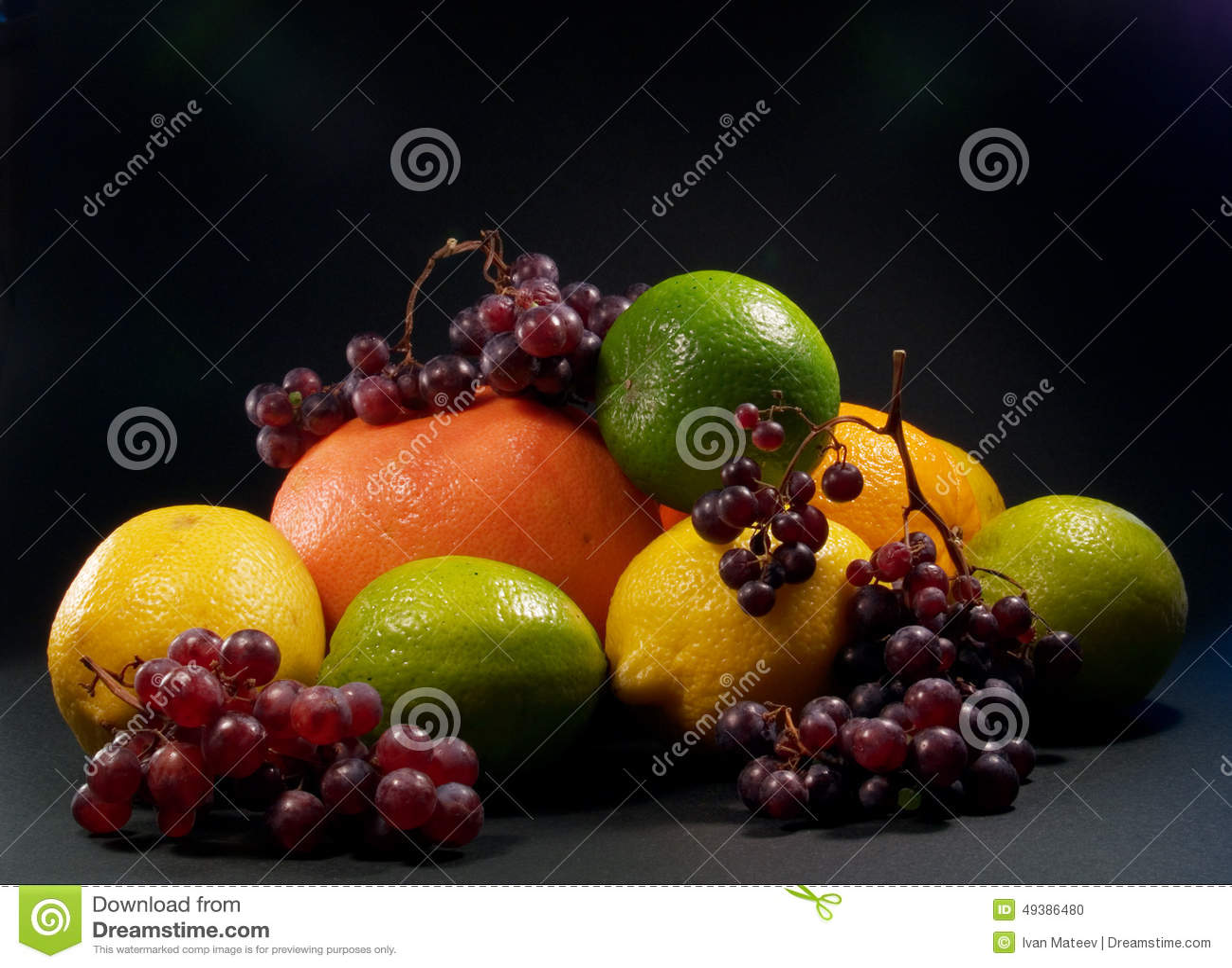 Fruits Still Life Stock Photo - Image: 49386480