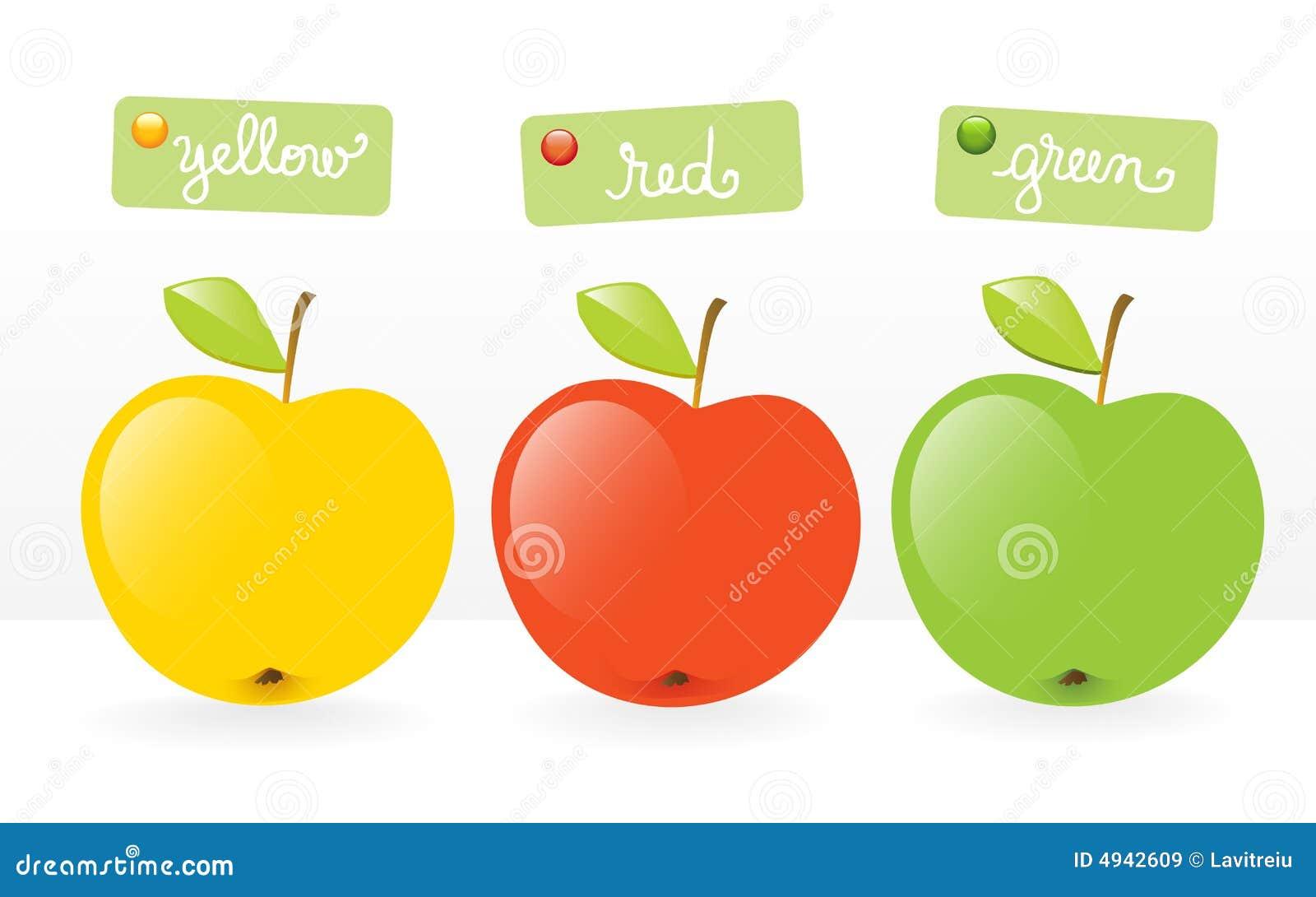 Fruits-three apples