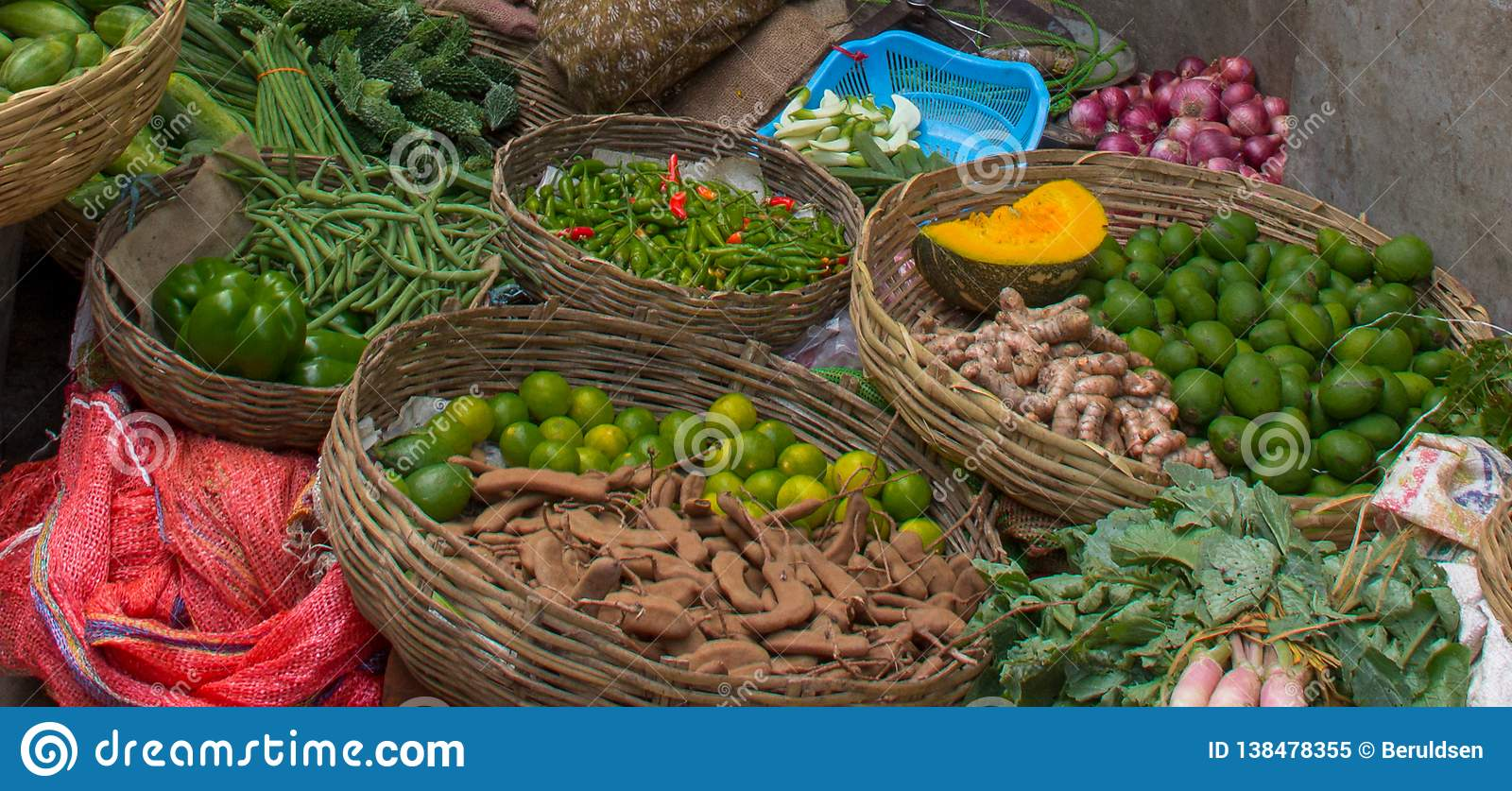 Fruit and Vegetable Market in India