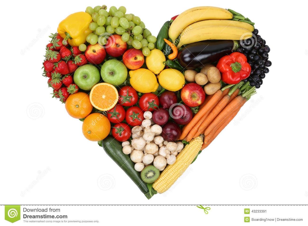 healthy fruit and vegetable heart healthy fruit