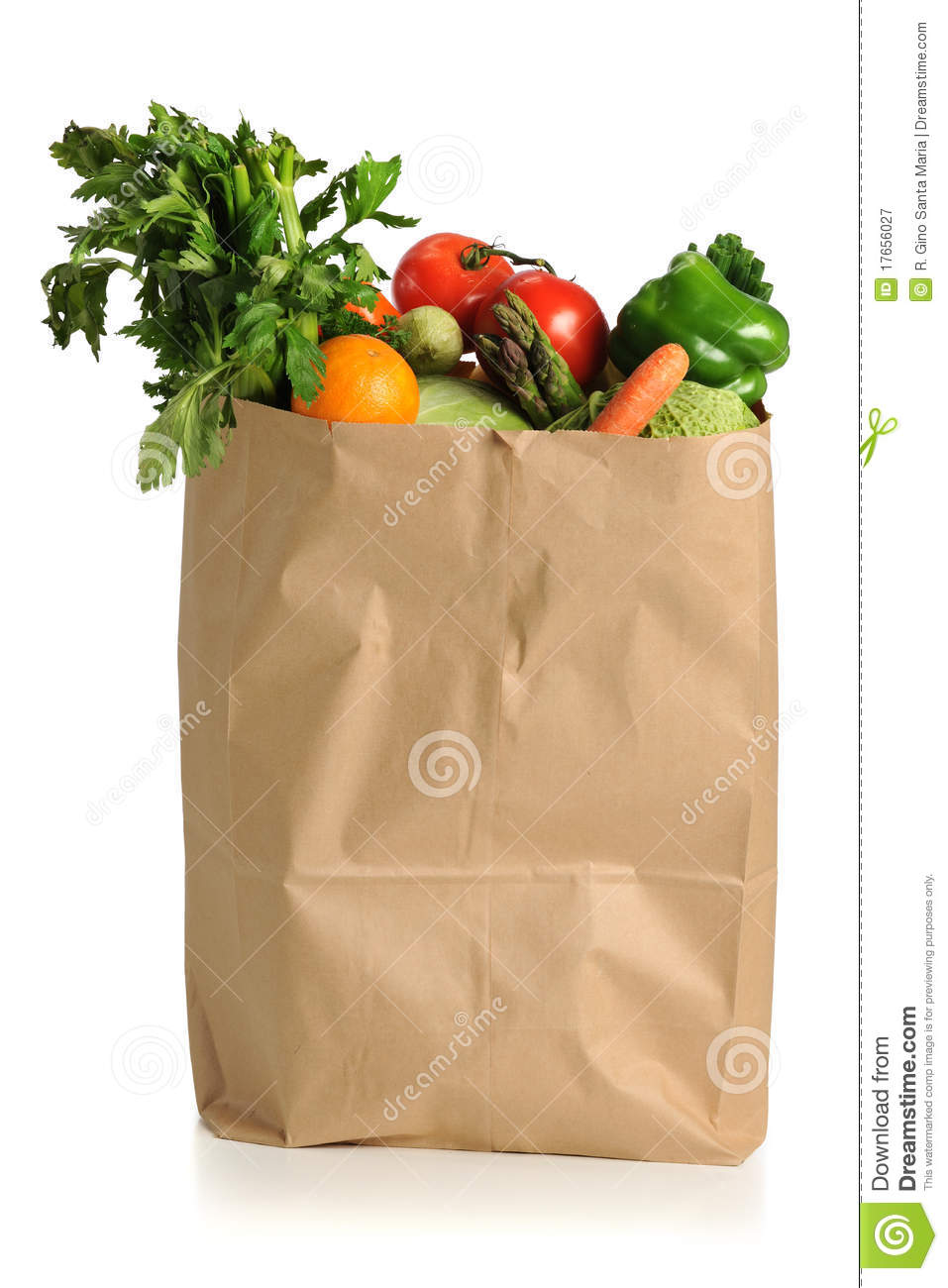 Full Grocery Cart Clipart Fruits And Vegetables ...