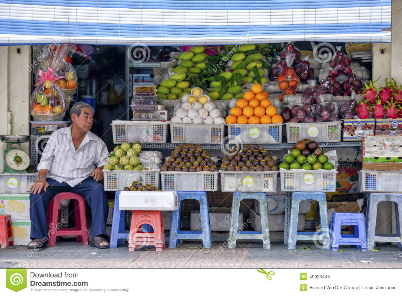 Fruits And Vegetables Grocery Store Editorial Photo - Image