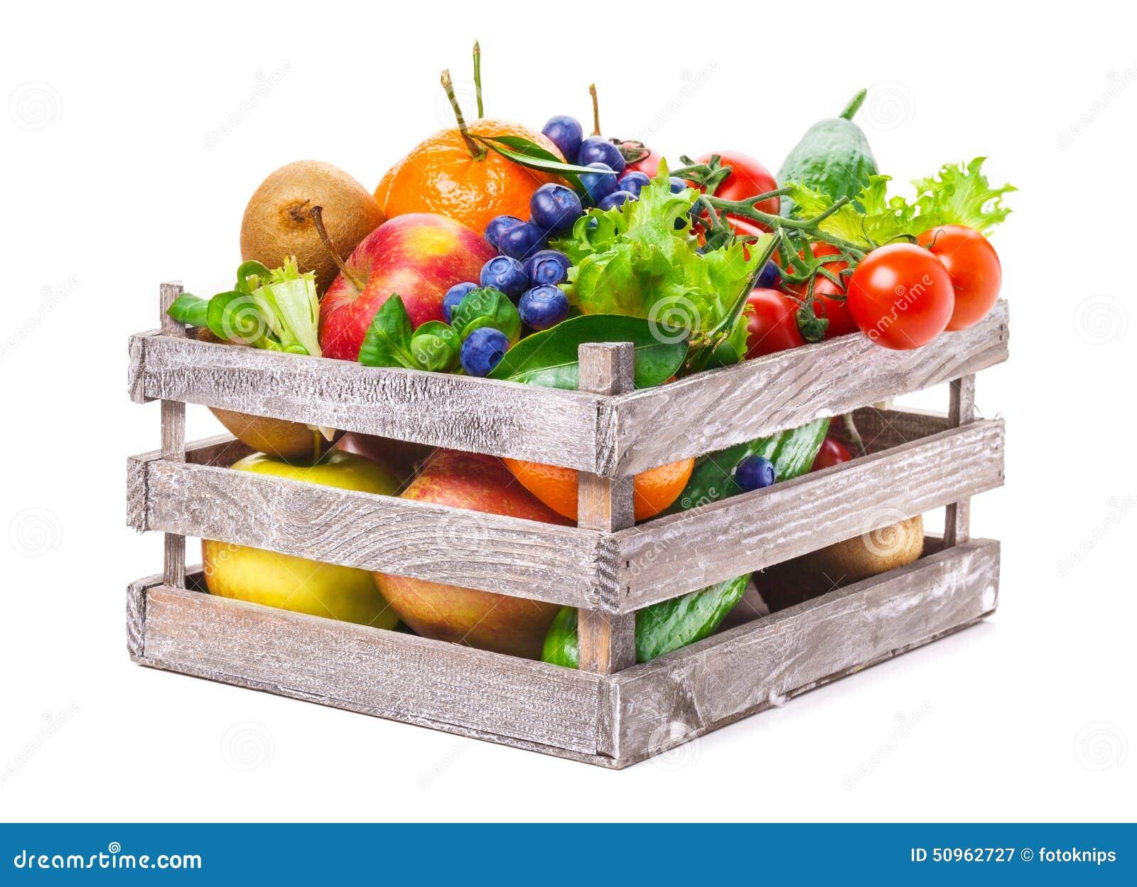 fruits vegetables in wooden box stock image image of area vegetables 50962727. Black Bedroom Furniture Sets. Home Design Ideas